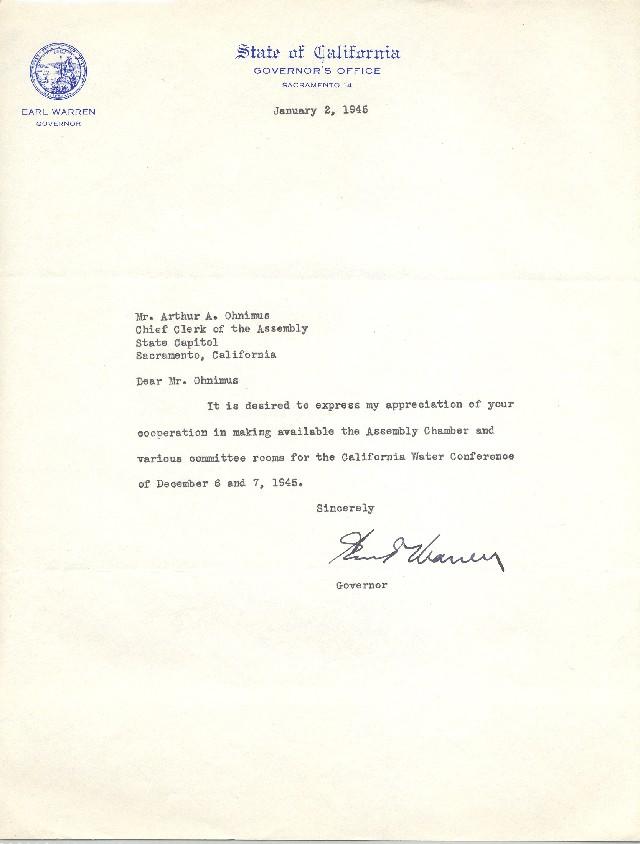 Thanks Letter Subject
